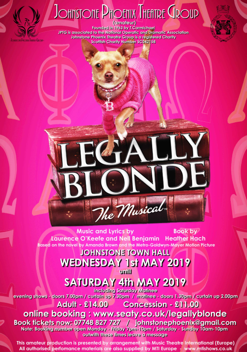 Seaty - Legally Blonde